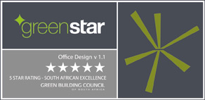 GBCSA 5 star design rating